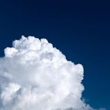 Large cloud Royalty Free Stock Photography