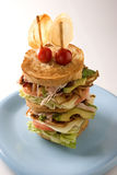 Large Club Sandwich Stock Images