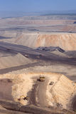 Large coal  mining site at Pingshuo Stock Image