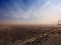 Large coal  mining site at Pingshuo Stock Photography