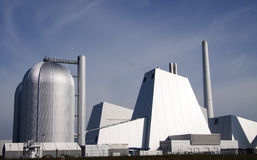 Large coal power plant Royalty Free Stock Image