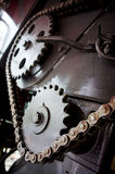 Large cog wheels Royalty Free Stock Photo