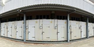 Large Cold Storage Facility Stock Images