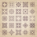 Large collection of decorative calligraphic ornaments in vintage style Royalty Free Stock Photo