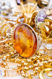Large collection of  jewellery Royalty Free Stock Photography