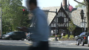 Large colonial style building (1 of 3) stock footage