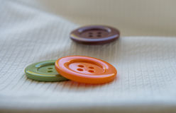 Large colored buttons Royalty Free Stock Photo