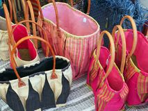 Colourful Handbags Royalty Free Stock Photo