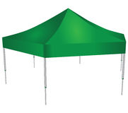 Commercial tent Stock Image