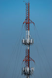 Large Communications Tower Stock Images