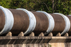 Large Concrete Drain Pipes  Royalty Free Stock Photo