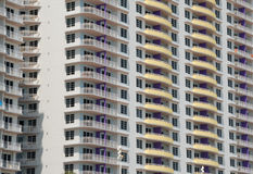 Large condo block Royalty Free Stock Images