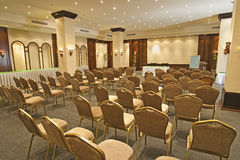 Large conference room Royalty Free Stock Images