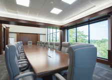 Large conference room Stock Image