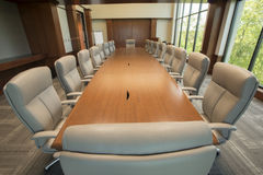Large conference room Stock Photography