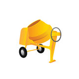 Large construction concrete mixer Royalty Free Stock Images
