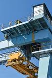 Large container crane Stock Photos