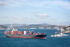 Large container Ship Royalty Free Stock Photo