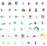 Large corporate company logo collection. Universal Royalty Free Stock Image
