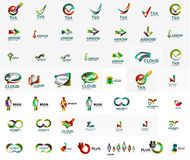 Large corporate company logo collection. Universal Stock Photography