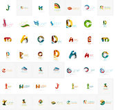 Large corporate company logo collection. Universal Stock Photos