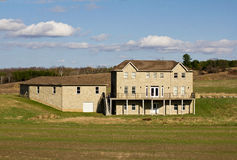 Large country home Stock Photo