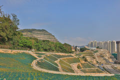 The large of Countryside retaining wall. Anderson Rd royalty free stock images