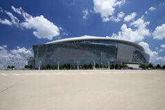 Large cowboy stadium Royalty Free Stock Photos