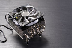Large CPU cooler Royalty Free Stock Image