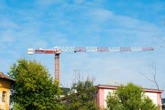 Large crane Royalty Free Stock Photos