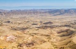 Large Crater, Negev desert Royalty Free Stock Image