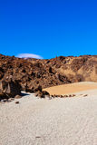 Large crater of the volcano Teide Stock Photos