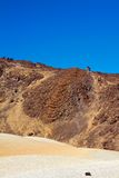 Large crater of the volcano Teide Stock Photography