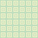 Large Cream and green blue square cube pattern background. Large cream and green blue squares inside squares cube pattern background wallpaper Royalty Free Stock Image