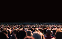 Large crowd of people Royalty Free Stock Images