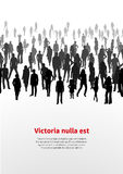 Large crowd of people. vector background Stock Photography