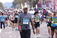 Large Crowd of Runners At Comrades Ultra Marathon Stock Image