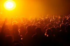 Large crowd symbolizing overpopulation. Large group of people symbolizing overpopulation Stock Photography