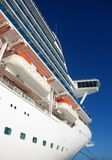Large cruise ship Stock Images