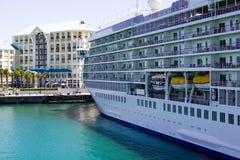Large cruise ship Royalty Free Stock Images