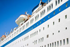 Large cruise ship Royalty Free Stock Photography