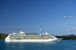 Large cruise ships Royalty Free Stock Image