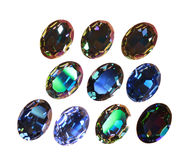 Large crystal strasses Royalty Free Stock Photos