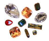 Large crystal strasses Stock Photography