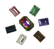 Large crystal strasses Royalty Free Stock Image
