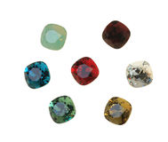 Large crystal strasses Stock Images