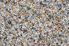 Large crystals of clean river sand Royalty Free Stock Images