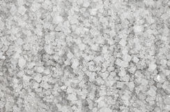 Large crystals of natural salt background Stock Photography