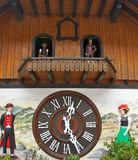 Large Cuckoo Clock Stock Photography