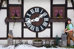 Large Cuckoo Clock Stock Image